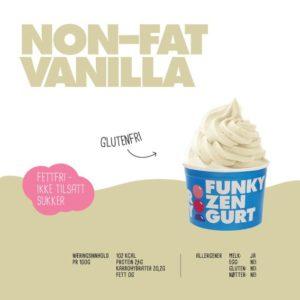 Non-fat vanilla